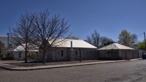 photo of Quintessential modern Marfa home with Jesus Morales Sculpture