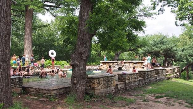 photo of Krause Springs Pool