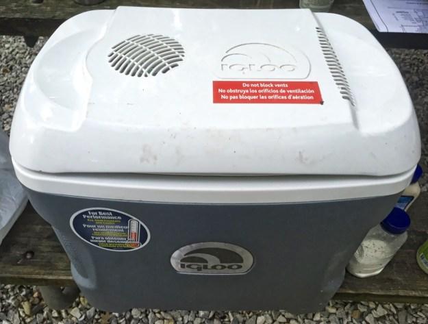 photo of Igloo cooler