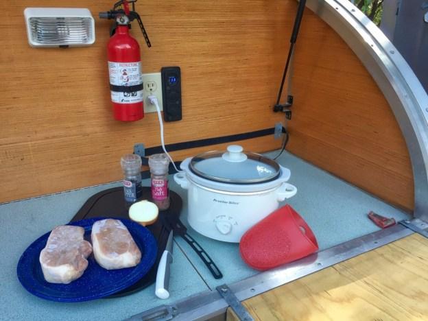 photo of Teardrop Pork Chops preparation