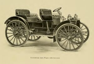photo of the International Auto Buggy