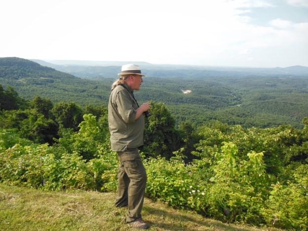 photo of Jim Experiencing Scenic Point near Jasper, Arkansas