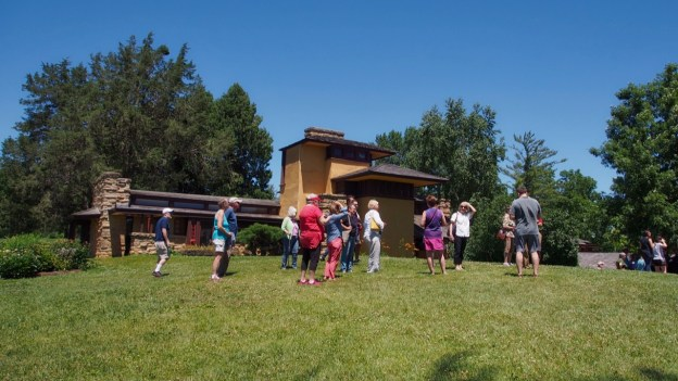photo of Taliesin tour