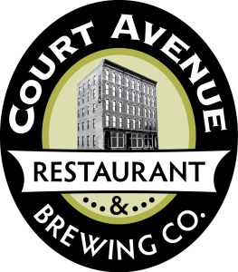 graphic of Court Avenue Brewing Co. Logo