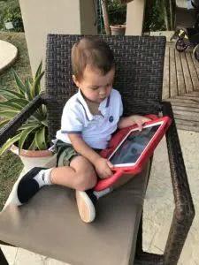 Toddler Travel: iPad Case