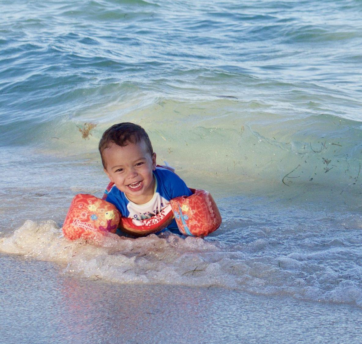 Toddler Floatie: The Puddle Jumper