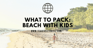 What to pack beach with kids
