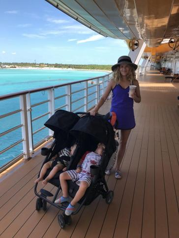 Cruise with baby, best type of vacation with young kids