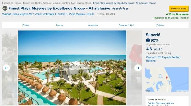 Finest Resort Expedia
