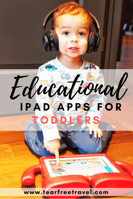Wondering what are the best iPad apps for toddlers? These apps got me through a long flight with a 2-year-old. Fun and educational, these are the top apps that my toddler loves. Click through to find out more!