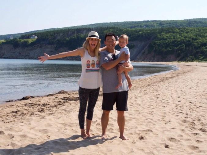 Cabot Trail. Cape Breton. Nova Scotia. Secret Beach. Family Vacation.