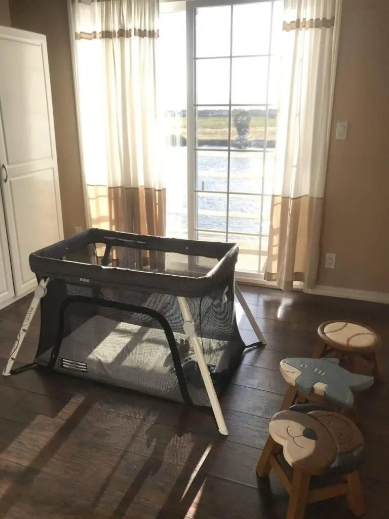 Lotus Crib - Best toddler travel bed