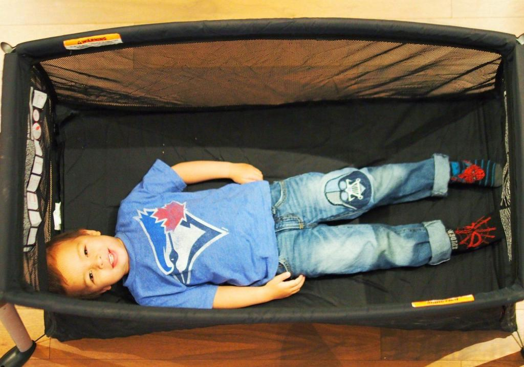 The Best Toddler Travel Bed for Tall Toddlers