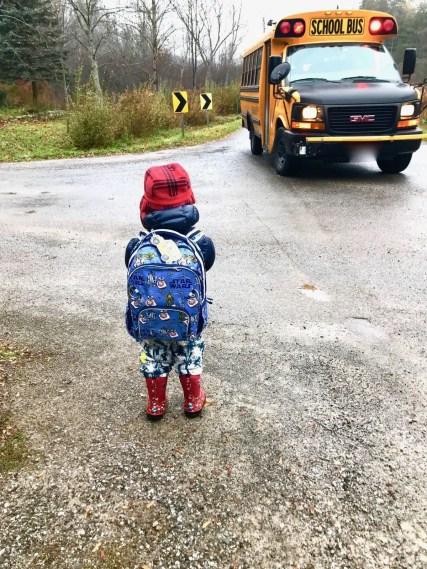 Get toddler to wear mittens
