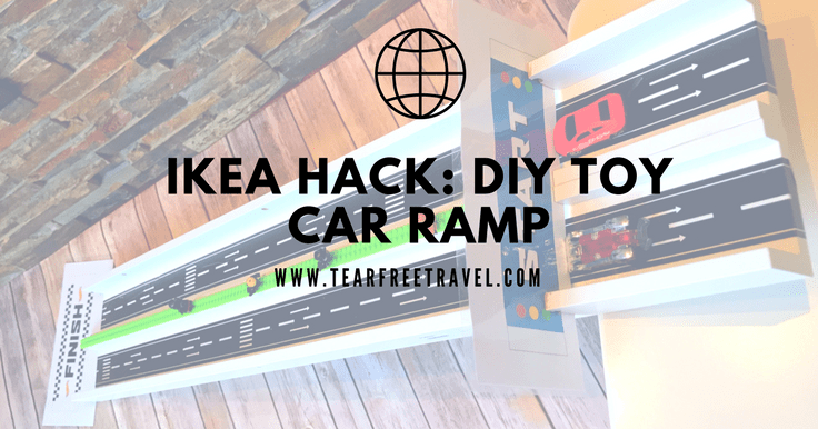 Ikea Hack: DIY Toy Car Ramp