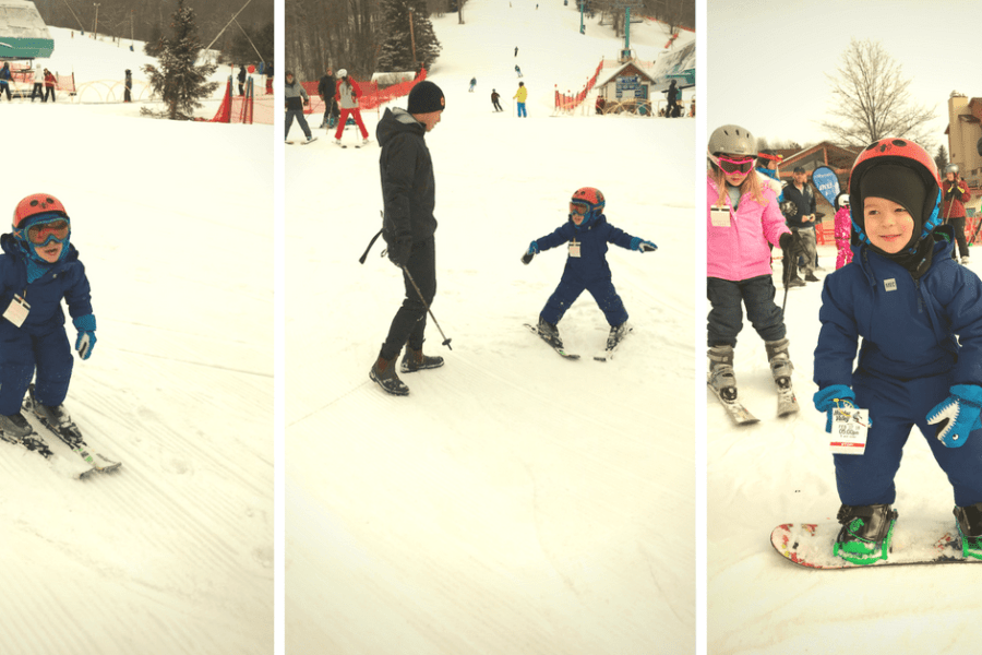 How to ROCK taking kids skiing for the first time