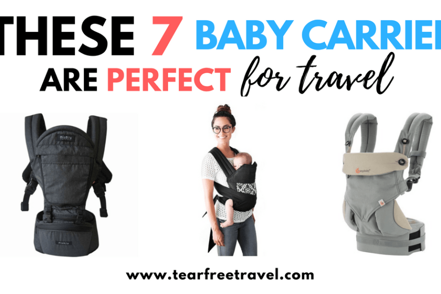 These 7 Baby Carriers Are PERFECT for Travel