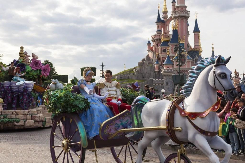 Disney Carriage Ride