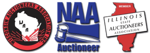 Image of WI, IL & National Auctioneers Assns