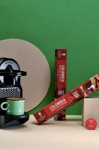 Colombia Espresso Kapsül Kahve  – Dark Roast – 10 Doğal Kapsül