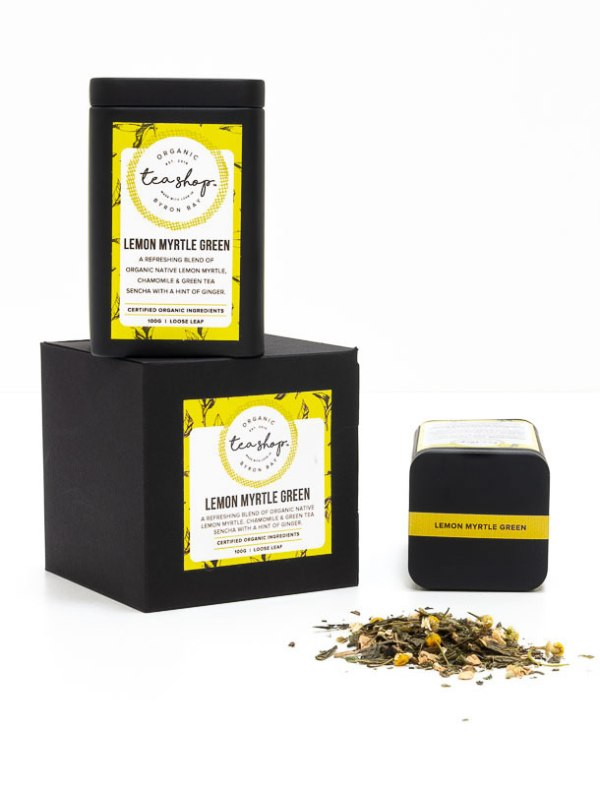 Lemon Myrtle Green Tea