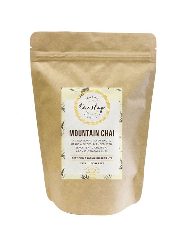 Mountain Chai Eco Pouch