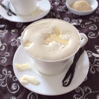 Vanilla Coconut Milk Steamer | The Recipe ReDux
