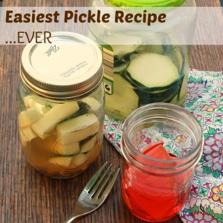 Easiest Pickle Recipe Ever for PICNIC WEEK