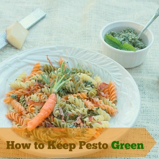 How to Keep Pesto Bright Green   The Recipe ReDux