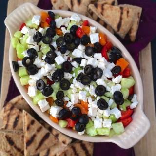 Layered Veggie Hummus Dip | The Recipe ReDux