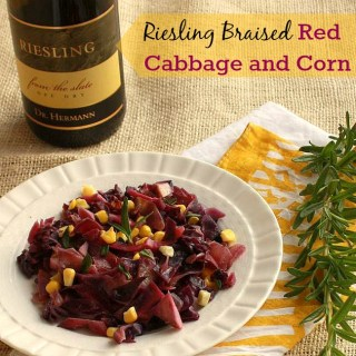 Riesling Braised Red Cabbage and Corn   The Recipe ReDux