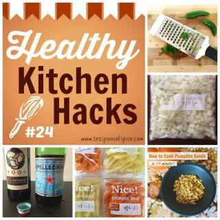 Healthy Kitchen Hacks #24