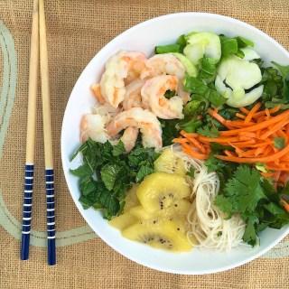 Vietnamese Noodle Salad With Shrimp and Kiwifruit   The Recipe ReDux