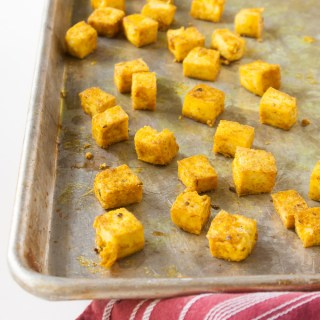 How to Make Crispy Baked Tofu | @TspCurry