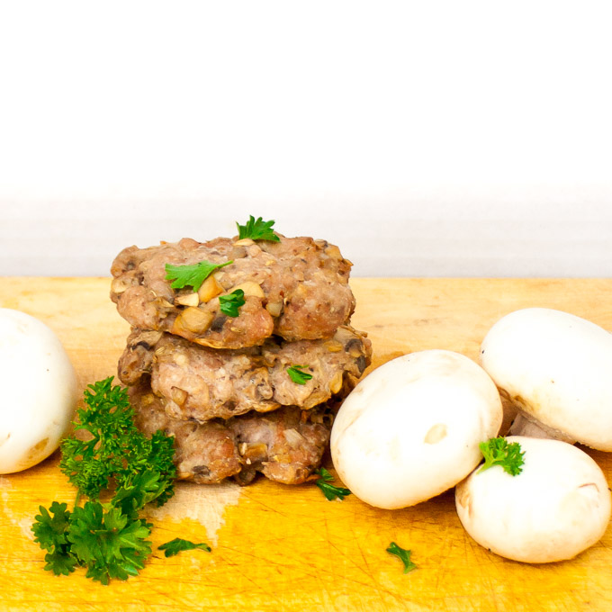 HOW TO MAKE BETTER TASTING BREAKFAST SAUSAGE WITH MUSHROOMS | @TspCurry