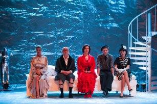 Split(date}-Drama Strasni roditelji koja se premijerno izvodi u HNK Split. Dramu je rezirao Goran Golovko. Snimio:Matko Biljak/SD