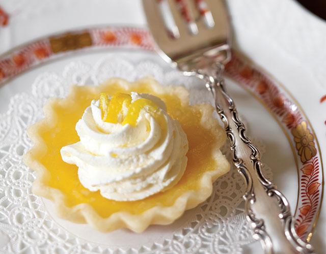 Autumn Tea Lemon Tartlets