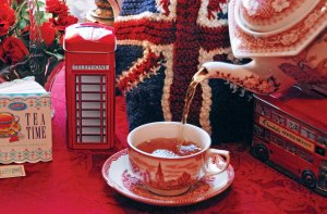 Guests at Miss Spenser's Special-Teas are assured of a bottomless pot of gourmet tea.