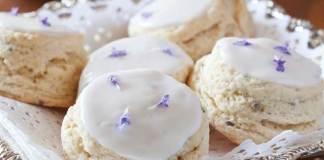 Lavender Cream Scones MJ13