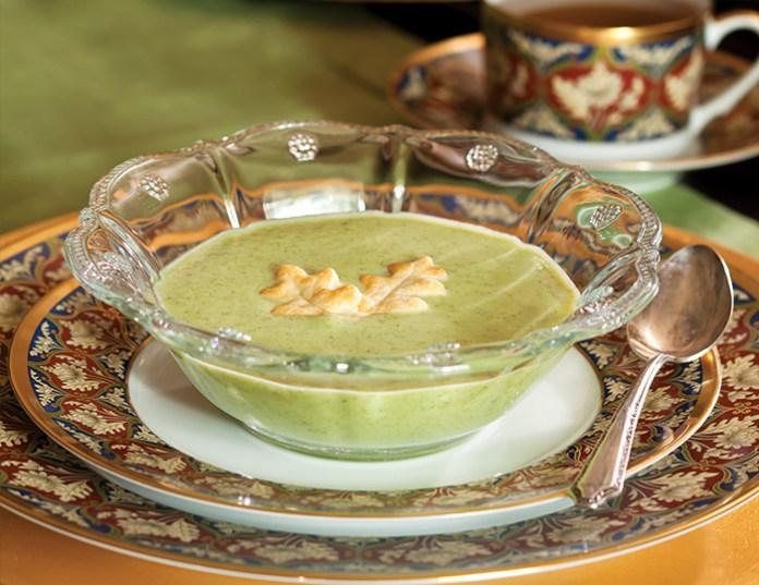 Mascarpone-Broccoli-Soup