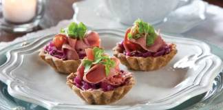 Reuben-Tartlets