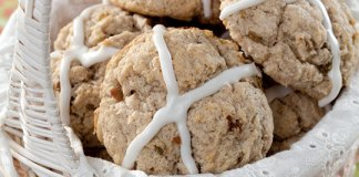 Hot Cross Scone
