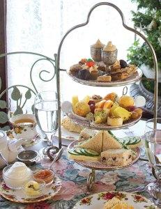 Mark Kleingartner prepares everything fresh each day for The Secret Garden's tea trays.