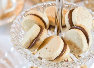 Mini Hazelnut Sandwich Cookies