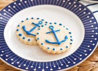 Vanilla Anchor Cookies