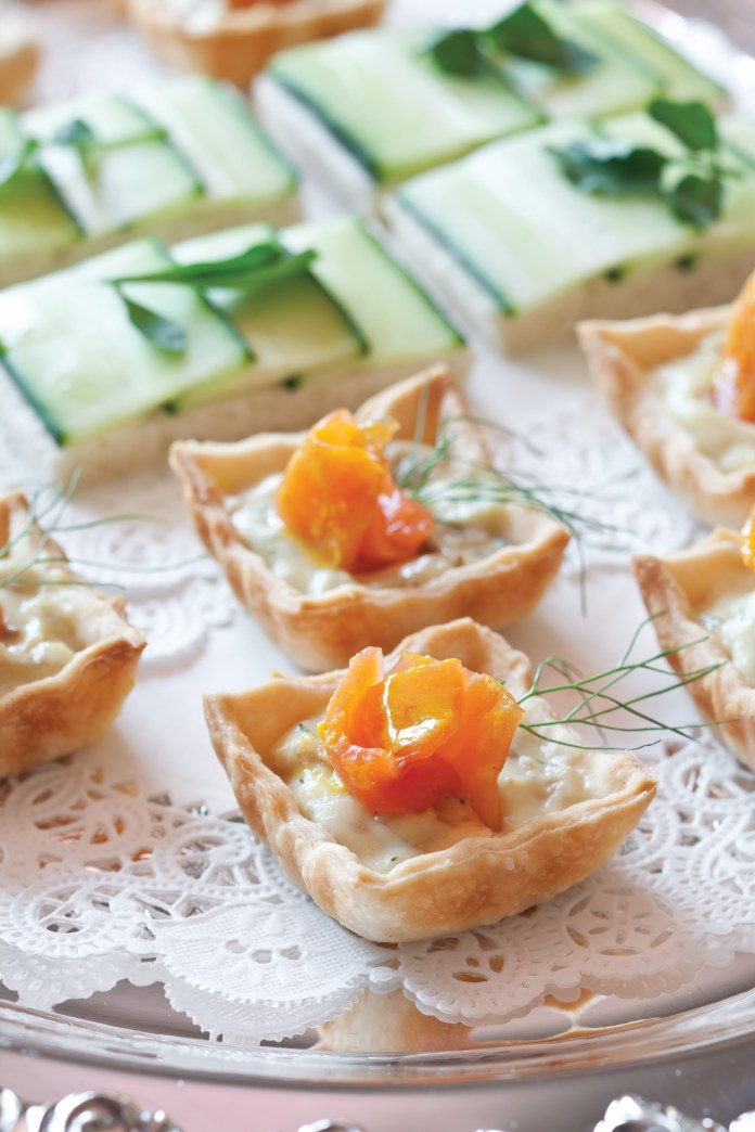 Salmon and Fennel Tartlets