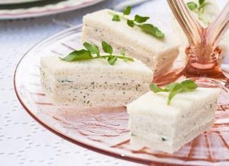 Salmon-WatercressFinger Sandwiches