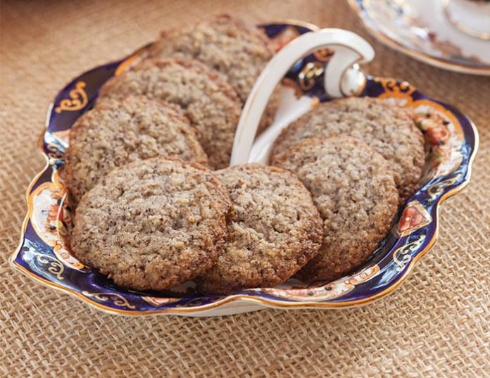 Hazelnut Wafer Cookies