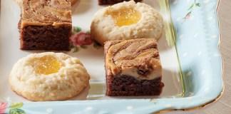 Peanut Butter–Swirled Brownies - TeaTime Magazine