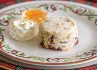 Gluten-free Cranberry, Pistachio & Orange Scone